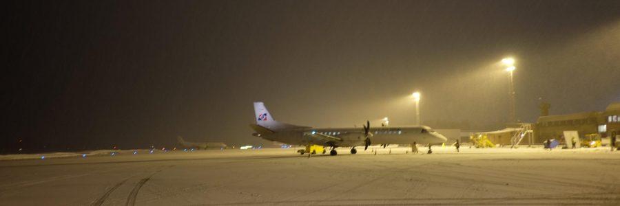 Ankunft in Kiruna